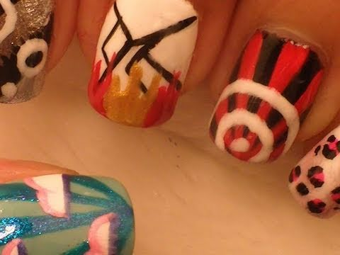 *F(X)* Korean Pop Inspired Nail Art