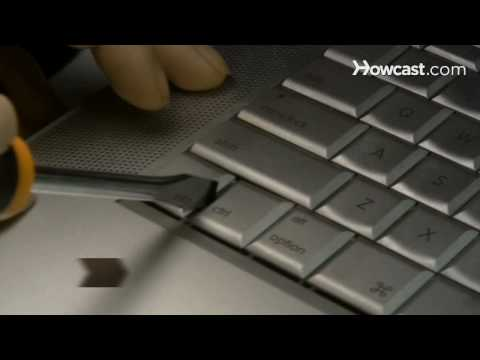 How to Fix a Stuck Laptop Key