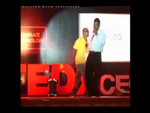 TEDxCEG - Samuel Eddy - Embrace Humans