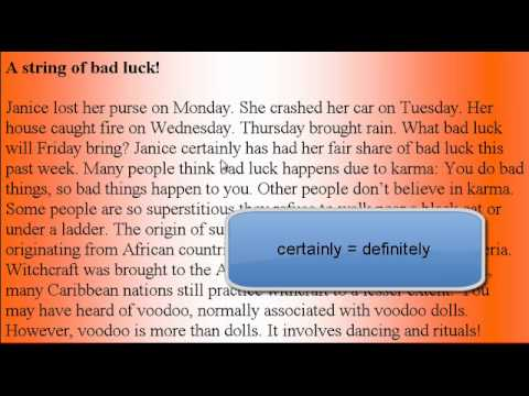 Learn American Accent English Lesson #42 Witchcraft!