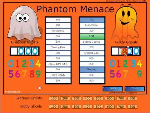 SMART Notebook Game - The Phantom Menace Review Game