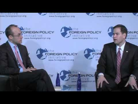 Restoring American Leadership - A Conversation with Senator Marco Rubio (R-FL)