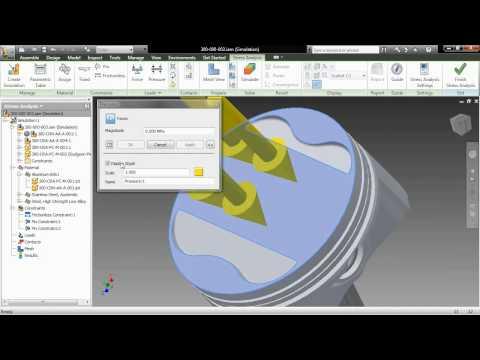 Autodesk Inventor 2011 — Simulation Guide