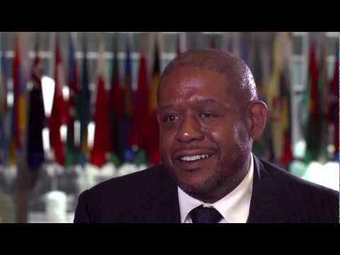 Forest Whitaker- Working with UNESCO.