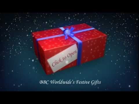 Festive Gifts!  Day 25: Matt Smith says Happy Christmas! - BBC