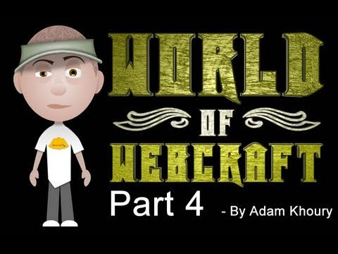 4. World of Webcraft - Actionscript 3.0 Dynamic Tween and hitTestObject Function Tutorial
