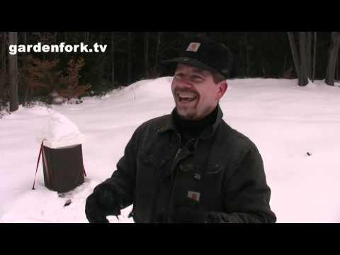 How to raise bees : Winter Check : GardenFork.TV