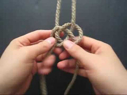 Double Coin Knot vs. Carrick Bend by TIAT