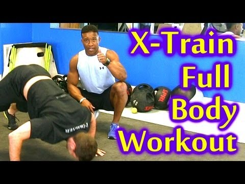 X Train Full Body Workout | Fast Intense Training to Burn Fat, Beginners Home Work Out Austin