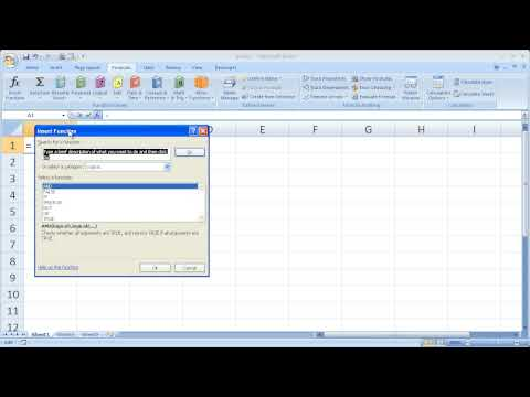 Excel Tips 26 - Quickly Search for and Use Complicated Functions in Excel