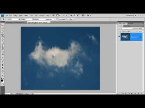 How to make a cloud brush in Photoshop - week 73