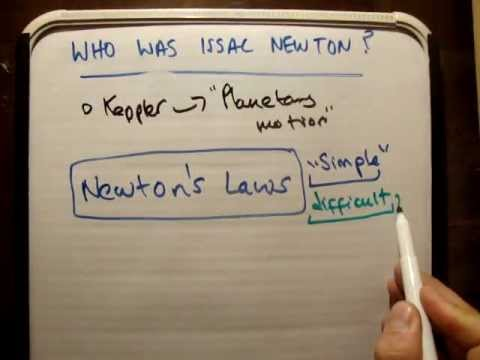 Who was Issac Newton