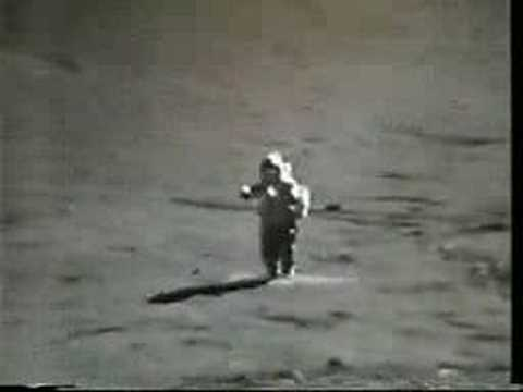 Bunny hopping on the Moon