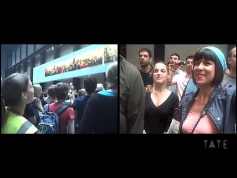 TateShots: 1000 people screaming at Tate Modern