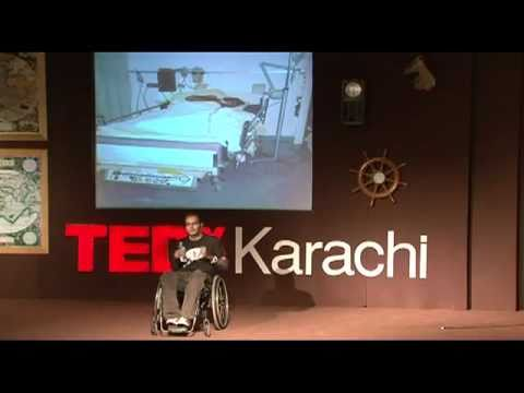 TEDxKarachi 2011 - Sarmad Tariq - Living Beyond the Finish Line Against the Odds