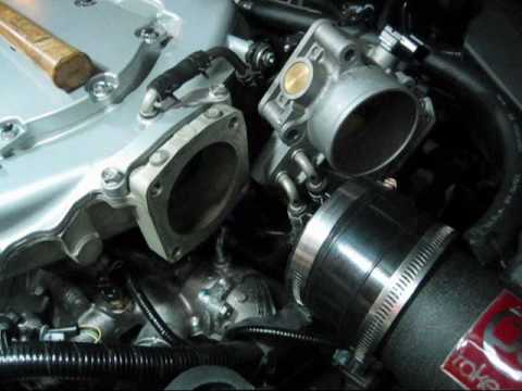 P2R Throttle Body Spacer Install 3.5L V6 Honda/Acura