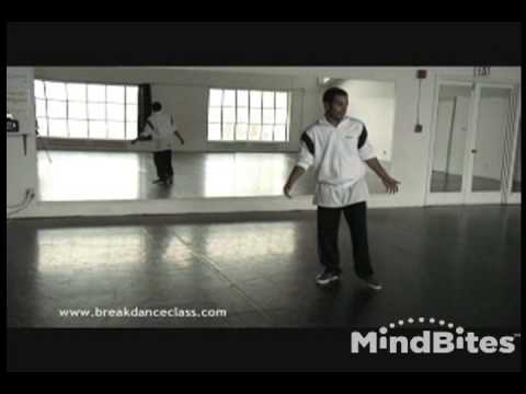 Breakdancing Lesson 1: Warm up, Top Rock Series