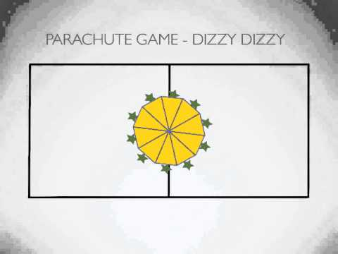 Physical Education Games - Parachute Game: Dizzy Dizzy