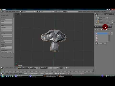 Blender Tutorial - Introduction to Blender 2.5