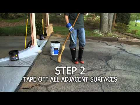 QPR's How to Seal a Driveway