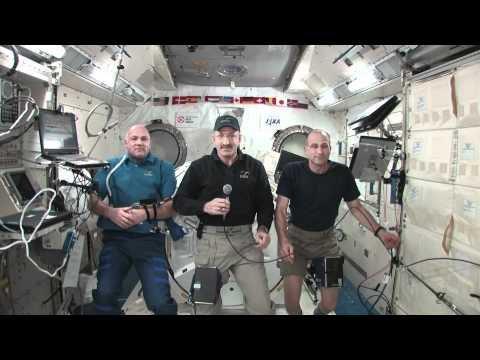 ISS Crew Chats with FOX News Radio, Space.com