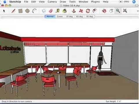 SketchUp: Setting your field of view