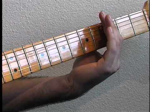 How To Play Main Riff to Life In The Fast Lane presented on guitar by Adam Smith