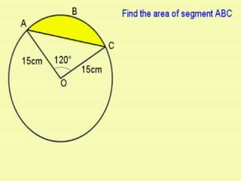 02 Area Of Sector And Segment Practice Question