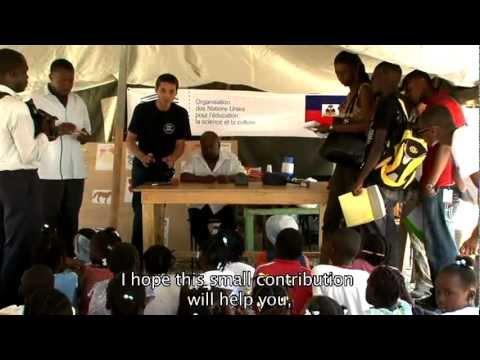 Books for children in Haiti