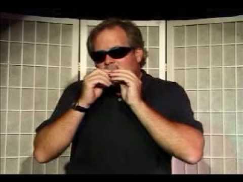 Harmonica Lesson - How to Back-fill with Chords