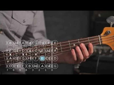 Bass Guitar Lesson: How to Play Note F