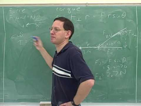 Physics: Rotational kinematics and torque (10)
