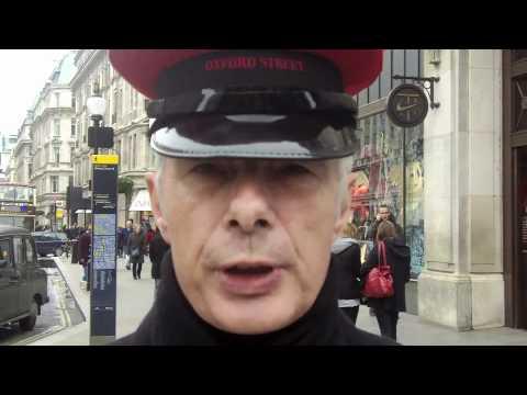 The World: Pedestrian slow lane in London