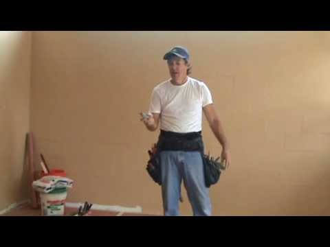 "Sheetrock knife ""tip for the day"""