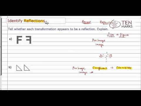 Identify Reflections