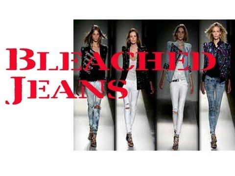 How to Bleach your Jeans