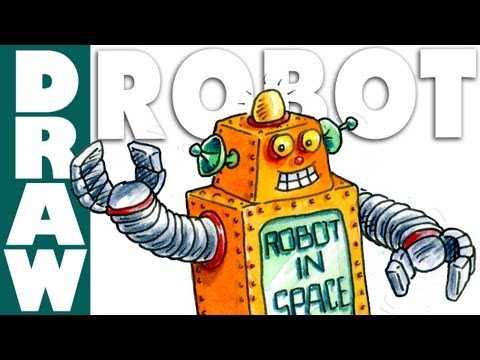 How to draw a Robot in Space