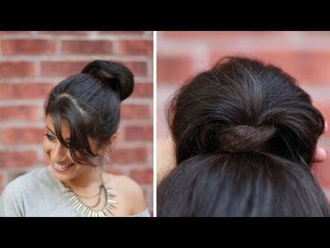 Everyday Hairstyle: Easy-Wrap Around Bun