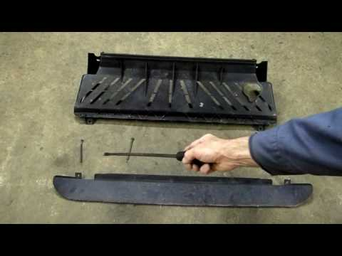 Radiator Deflector To Air Dam Installation