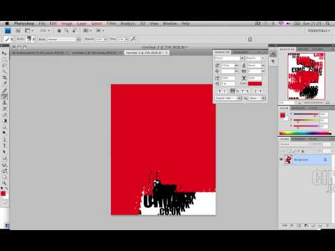 Photoshop Tutorial : How to make custom brushes