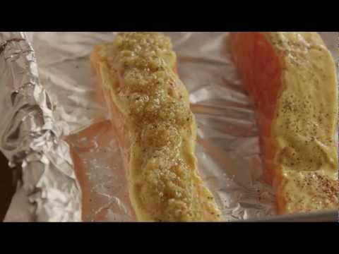 How to Make Baked Dijon Salmon Fillets