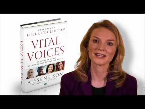 Vital Voices, Alyse Nelson