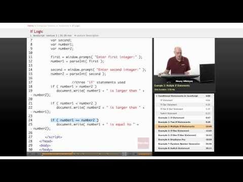 JavaScript: If Logic