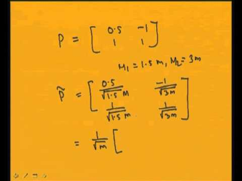 Mod-7 Lec-3 Modal Analysis: Undamped