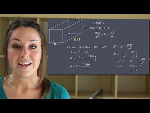 Optimization - Calculus
