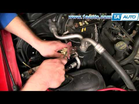 How to Install Replace Heater AC Fan Speed Resistor 99-07 Ford F250 F350 Super Duty 1AAuto.com
