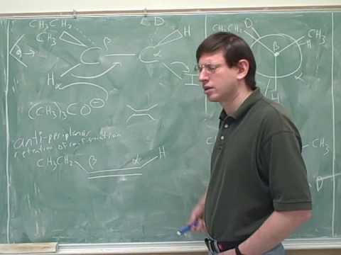 Organic chemistry: E2 reactions (7)