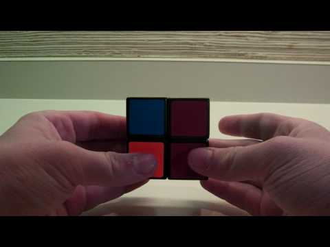 How to Solve the Rubik's Cube 2x2 (Ortega Method)