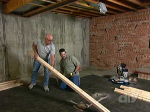 Framing a Dividing Wall-DIY