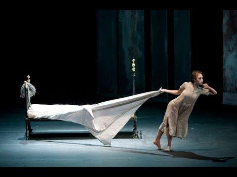 Liam Scarlett rehearses Sweet Violets - Royal Ballet LIVE
